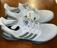 Men's Adidas Ultraboost 20 Running Shoes Dash Grey / Blue ISS Sizes: 10.5, 11
