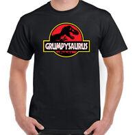 Grumpysaurus T-Shirt Mens Funny Fathers Day Grumpy Old Man Gift