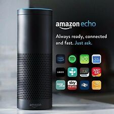 Amazon Echo BLACK Alexa Voice Controlled Personal Assistant Bluetooth Speaker