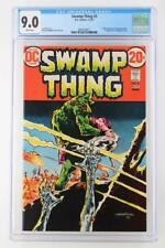 Swamp Thing #3 - CGC 9.0 VF/NM - DC 1973 - 1st App Abigail Arcane!