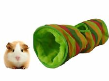 Tunnel Nest Hideout Rabbit Guinea Pig Mouse Rat Comfy 45x15cm for Small Animals