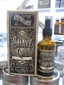 Apothecary87 1893 Shave Oil Rasieröl 50 ml      100ml=35,90E