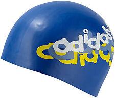 adidas junior swimming cap blue