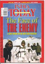 INDIA TODAY-july 12,1999-THE FACE OF THE ENEMY.