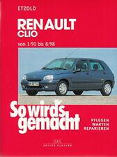 RENAULT CLIO 91-98 Reparaturanleitung So wirds gemacht/Etzold Reparatur-Handbuch