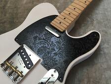 Black Paisley Custom Bakelite Pickguard fits Fender® Telecaster® Tele® 5 hole