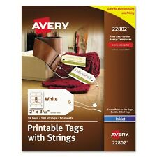 Avery Printable Tags With Strings - 22802
