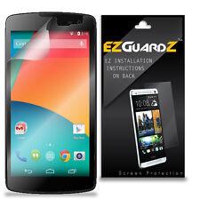 3X EZguardz LCD Screen Protector Skin HD 3X For MaxWest Gravity 5.5 (Clear)