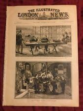 Thomas Edison - Phonograph- Eiffel Tower -1888 Illustrated London News Newspaper