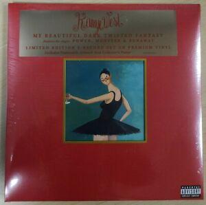 Kanye West – My Beautiful Dark Twisted Fantasy - 3 LP Vinyl Records - NEW Sealed