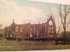 Bolton Abbey vintage postcard