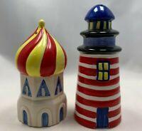 """Whimsical Salt & Pepper Shakers 4.25"""" x 1.75"""""""