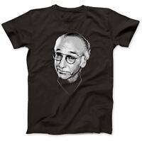 Larry David Tribute T-Shirt 100% Premium Cotton Curb