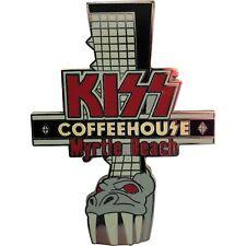 Kiss Myrtle Beach Coffee House Demon Boot Pin
