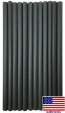 """(12) 12"""" Black Heat Shrink Tubing 1/2"""" Dual Wall Adhesive Lined Wire Wrap 3:1"""