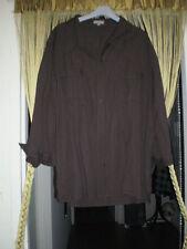 Lin Tunique 50 52 turquoise brun bleu marron Made in Italy Ella Jonte Shirt