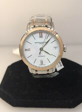 Baume & Mercier Classima 18K Rose Gold & SS Automatic Ladies Watch M0A10315 BNWT