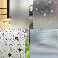 45x100cm Waterproof Frosted Privacy Bedroom Bathroom Window Glass Film Stickers