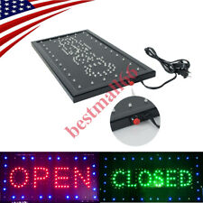 Wonderful Animated Motion Running Neon Light Led Business Store Open Closed Sign