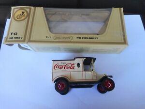 Matchbox Yesteryear Y12 RARE five line Coke