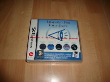 TRAINING FOR YOUR EYES NTR-AG3P-ESP PARA LA NINTENDO DS NUEVO PRECINTADO