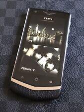 Genuine Vertu Constellation V Android Luxury Phone in Black Super RARE MINT