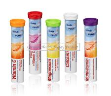 5x Vitamin Complex Effervescent Biotin B E C Magnesium Calcium Iron Complete Kit