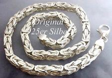 Königskette 925 Sterlingsilber 7,1mm MASSIV vierkant echt Silber Herren kette 60