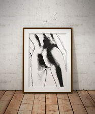 NUDE print, poster, prints, posters, abstract, gifts, wallart, gift,