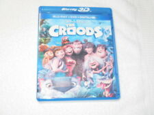 3D MOVIE BLU RAY THE CROODS CAVEMEN FROM DREAMWORKS FILMS VERY FUNNY