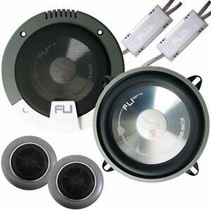 "Fli FI5COMP 5.25"" 13cm Car Audio Components Door / Dash / Shelf Speakers 225w"