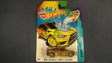 HOT WHEELS COLOR SHIFTERS 2008 MITSUBISHI LANCER EVOLUTION