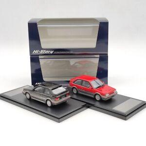 Hi-Story 1/43 Mazda Familia Full Time 4WD GT-X 1985 HS261 Resin Model Limited
