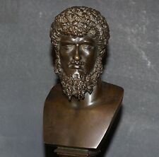 Antique Lucius Verus Bronze Bust