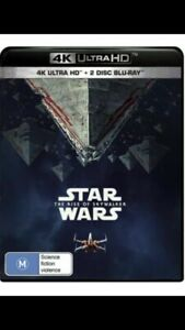 Star Wars The Rise of Skywalker - 4K Ultra HD + 2 Disc Blu-ray - New Sealed