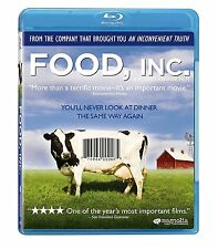 Food, Inc. (Blu-ray Disc, 2012, NEW, FREE SHIPPING!!!! (EARTH DAY PACKAGING)