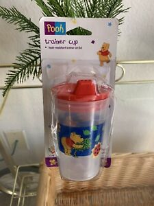 Winnie the Pooh Vintage 1995 The First Years TRAINER CUP New Old Stock VTG