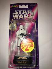 1997 Star Wars STORMTROOPER Figurine Stamper ROSEART Inkpad in Base RARE