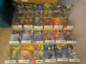 Amiibo ~ Super Smash Bros figures B ~ NEW in Package - You pick ~ NINTENDO