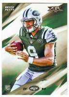 2015 Topps Fire Football Rookies RC #35 Bryce Petty New York Jets
