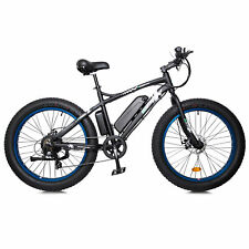 "ECOTRIC 26"" 500W 36V Fat Tire Mountain Electric e-Bike Bicycle Removable Battery"