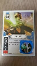 Star Wars Destiny  Force Speed  #55  Legendary  Spirit of Rebellion
