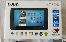 Coby Kyros MID7048-4  1 GHz Processor, 4GB Storage, Wi-Fi, Camera, 7in - Black