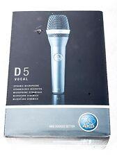 AKG D5 Dynamic Microphone, NEW