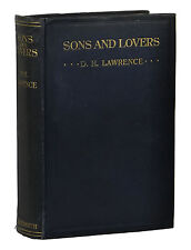 Sons and Lovers by D.H. LAWRENCE ~ First Edition 1913 ~ 1st UK Duckworth DH