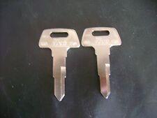 2 Keys 78 79 80 81 82 83 Honda GL1500 CX500 CX650 GL650 1985 1986 1987 1988 1989