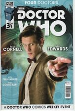 Doctor Who Four Doctors #3 War 9th 10th 11th 12th Doctor comic book TV show