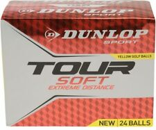 Box 24 Pack x Genuine Dunlop Professional Tour FLURO ORANGE Golf Balls NEW BOXED