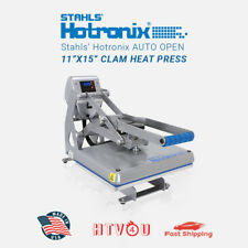 "Stahls' Hotronix Auto Open 11"" x 15"" Clam Heat Press **Free Shipping!!"