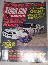 Stock Car Racing Magazine Hudson Hornet March 1987 041117NONRH